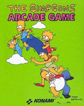 Simpsons Arcade Game, The (Side 1)